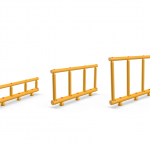 Impact Safety Barrier (Double) Ø100/70