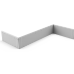 Wall Guard for epoxy skirting (PRS)